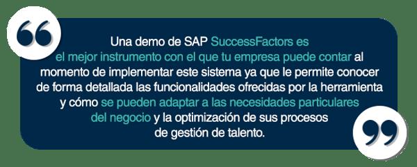 Demo de SAP SuccessFactors_quote