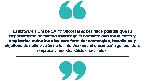 Potencializa tus RRHH con SAP® SuccessFactors_quote